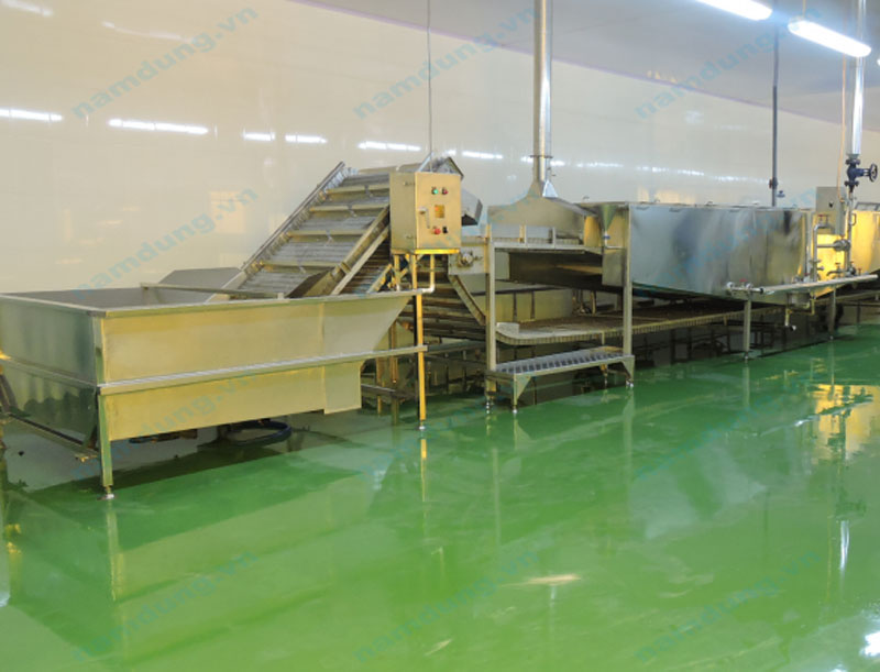 COOKING MACHINE FOR AGRICULTURAL PRODUCTS